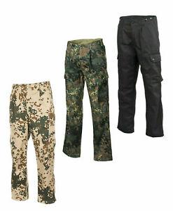 NEU Bundeswehr Feldhose Einsatzhose flecktarn schwarz wüsten BW 5-Farben Hose