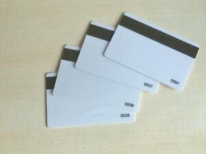 25 Magnetkarten Kundenkarten Waschkarten Tankkarten Plastikkarten Magnetstreifen