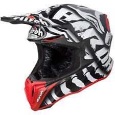 Casco 2019 AIROH Twist Leyenda Negro Mate Motocross MX Off Road Nuevo Enduro Bmx