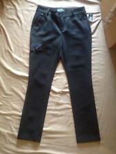 LAUREN RL ACTIVE Black Pants POLYESTER SIDE PANT POCKET Size10   NWT