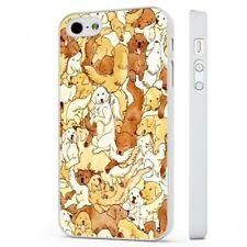 Labrador Golden Retriever Dog Cute WHITE PHONE CASE COVER fits iPHONE