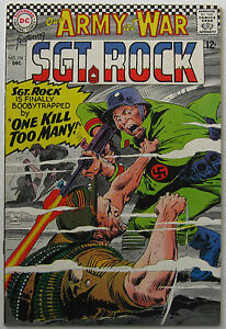 Our Army At War #174 (Dec 1966, DC), NM condition