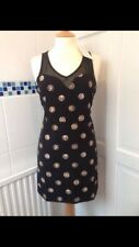 Robe noire avec coin Motif Taille 10, BRAND NEW with tags (GRAFFITH)