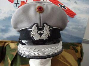 Frühe Bundeswehr Schirmmütze Heer ORIGINAL Stabs-Offizier