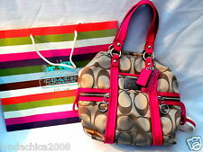 Coach Poppy Signature Spotlight Shoulder Bag #F13843 ***BRAND NEW WITH TAGS***