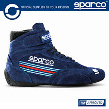 New! 2021 Sparco TOP Race Boots Martini Racing Special Edition Blue Sizes 37-48