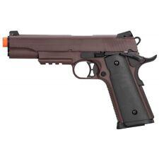 Double Bell M1911 Gas Blowback Airsoft Pistol CRIMSON BROWN Metal