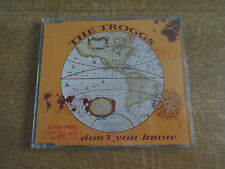 The Troggs, REM, Don't You Know cd single, Essential Records
