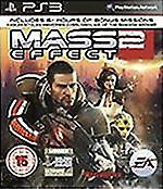 Mass Effect 2 PS3 NEW Ad Sealed Mas Effect II UK Original Release Not Budget