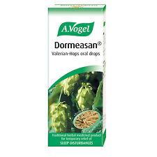 3 x A.Vogel Dormeasan Valerian Hops Oral Drops 50ml For Sleeping Problems