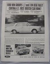 1963 Ford Original advert