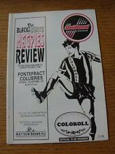 13/09/1997 Chorley v Pontefract Collieries [FA Cup] (Item in very good condition