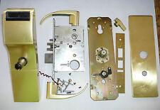 Used Onity Hotel Lock HT24i Satin Brass Gold Color saflok Vingcard Ilco