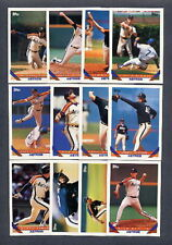 1993 Topps Houston Astros TEAM SET w/ Traded