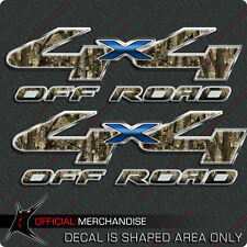 4x4 Camouflage Blue Truck Decal Hunting Off Road Sticker compatible with Ford