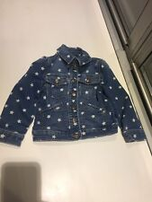 Baby Gap Classic Jean Jacket With Stars, size 4 - great condition