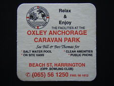 OXLEY ANCHORAGE CARAVAN PARK BILL & BEV BEACH ST HARRINGTON 065 561250 COASTER
