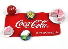 Coca-Cola Coke USA Miniature Picknick Kit pour Poupées Maison de poupées - Tarte