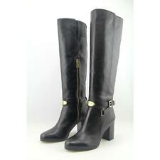Michael Kors Arley Women Black Leather Boots Size 7
