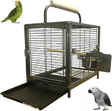 Parrot-Supplies Parrot Traveller - Parrot Travel Carry Carrier Cage