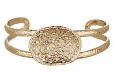Melinda Maria Gold Loriann Pave Pod Cuff Bracelet 0392