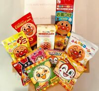 Anpanman Box Set, Snack, Rice Cracker, Candy Assortment, 11 pc, Japan