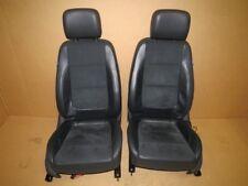 Original VW Sharan 7N Highline Sitze vorn Leder - Alcantara schwarz M7731