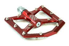 DaBomb SHOOT BLOCK MTB Pedal Set - Gloss Red