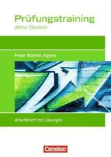Prüfungstraining Abitur - Deutsch / Agnes von Thomas Rahner (2011, Taschenbuch)