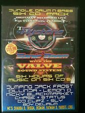 Hysteria 48 Sonic Boom with Valve Soundstystem! 6 x CD drum n bass rave pack