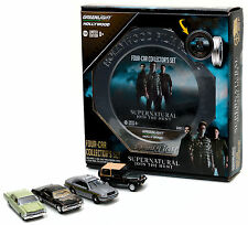 HOLLYWOOD FILM REELS SERIES 5, 4PC SET SUPERNATURAL 1/64 BY GREENLIGHT 59050 A