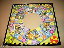 Rose Art 2005 The Simpsons DON'T PANIC! Game Replacement Board Only Part Piece