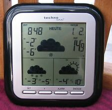 Wetterstation WD 1202 Wettervorhersage, Funkuhr,  (für TX38WD-IT , TX35-IT )