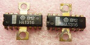 HA1316 / COMPARABLE TO ECG1036, NTE1036 / IC / DIP / 2 PIECES (QZTY)