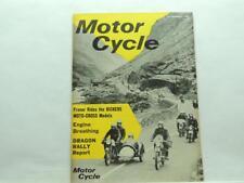 1967 Feb Motorcycle Magazine Moto-Cross Honda 125 cc Capri Super 150 B2279