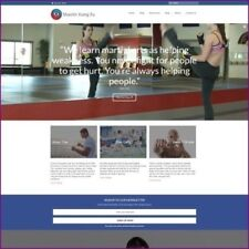 MARTIAL ARTS Website Business For Sale - Upto £559.60 Commission A Sale Dropship
