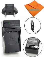 AC-VQP10 Battery Charger for NP-FH50 BC-VH1 Sony HDR-TG1 HDR-TG3 HDR-TG5 HDR-TG7