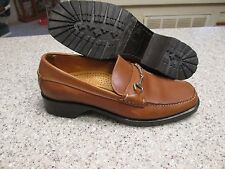 COLE HAAN  Women's Shoes Size 7 B BRITISH TAN LOAFERS EQUESTRIAN LEATHER LN