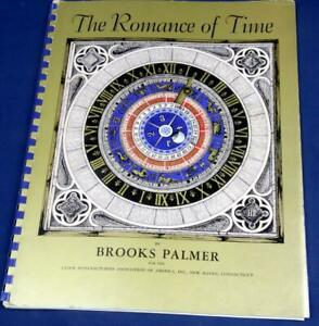 G19.  THE ROMANCE OF TIME BY BROOKS PALMER, SPIRAL BOUND 67 PAGES. DESCRIBES HIS