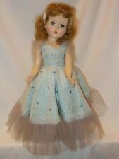"17"" Vintage Hard Plastic Doll Marked R&B Arranbee"