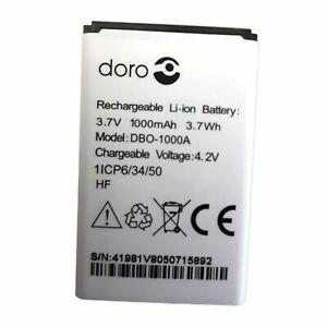 GENUINE DORO DBO-1000A BATTERY FOR DORO 1372 / 2404 / 1370 1000mAh
