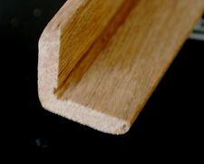 Solid English OAK Right Angle MOULDING 1m - 25x25mm Edge Trim - Corner