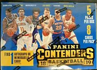 2018-19 Panini Contenders Basketball Blaster Box Luka Doncic Trae Young rookie