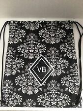Vera Bradley   VB Drawstring Backsack ~  Backpack  In CHANDELIER NOIR - NWT