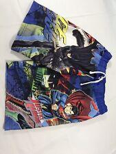 Justice League Youth Boys Size M 8-10 Swim Board Shorts Flash Batman Superman