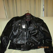 HOWARDS EXCLUSIVE LEATHER MOTORCYCLE JACKET