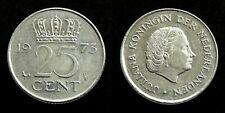 Netherlands - Juliana 25 Cent 1973