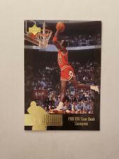 Michael Jordan 1996-97 Upper Deck Jordan Collection #JC6 '88 Slam Dunk Champion