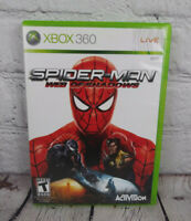 Spider-Man Web of Shadows (Microsoft Xbox 360, 2008) Video Game Complete
