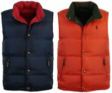Polo Ralph Lauren Men's Reversible Down Puffer Vest - S & M ONLY - Two Colors!!